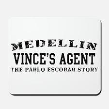 Vince's Agent - Medellin Mousepad