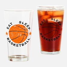 Eat Sleep Basketball Drinking Glass