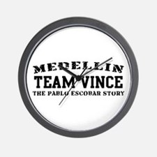 Team Vince - Medellin Wall Clock