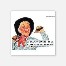 Balanced Diet Sticker