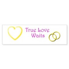 True Love Bumper Sticker Bumper