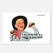 Balanced Diet Postcards (Package of 8)