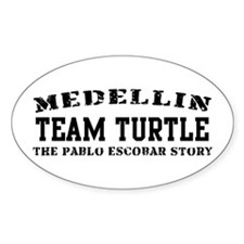 Team Turtle - Medellin Oval Decal