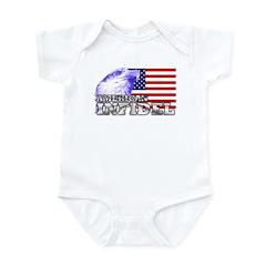 American Infidel Infant Creeper