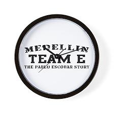 Team E - Medellin Wall Clock