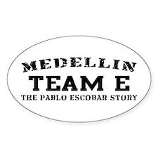 Team E - Medellin Oval Decal