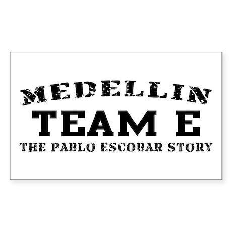 Team E - Medellin Rectangle Sticker