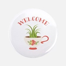 Tea Cup Welcome Button
