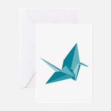 Origami Crane Greeting Cards