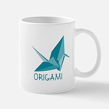 Origami Paper Crane Mugs