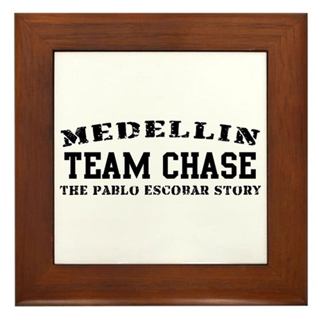 Team Chase - Medellin Framed Tile