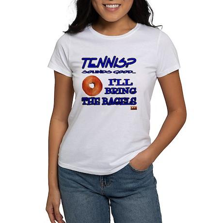 Tennis Bagel Women's T-Shirt