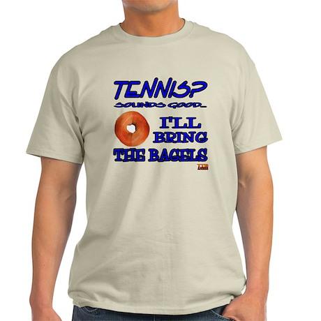 Tennis Bagel Light T-Shirt