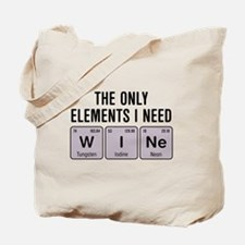 Cute Wine humor Tote Bag