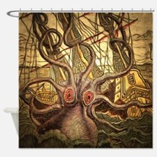 Sailors Nightmare Shower Curtain