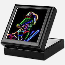 Neon Alligator Keepsake Box