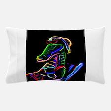 Neon Alligator Pillow Case