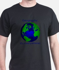 Unique Geography teacher T-Shirt
