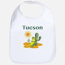 Tucson Lizard under Cactus Bib