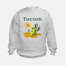 Tucson Lizard under Cactus Sweatshirt
