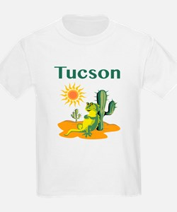 Tucson Lizard under Cactus T-Shirt