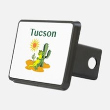 Tucson Lizard Under Cactus Hitch Cover