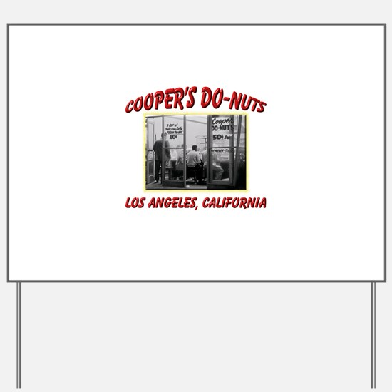 Coopers Donuts Yard Sign