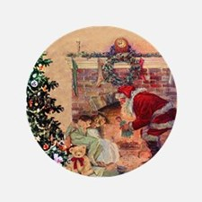 The Night Before Christmas Button
