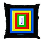 Pyrabow Throw Pillow