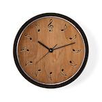 Musical Notation Wall Clock