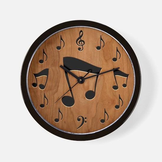 Musical Notation II Wall Clock