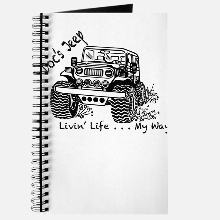 Doc's Jeep and it's Many Adventures Journal