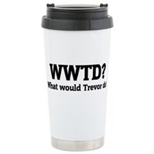Funny What would katniss do Travel Mug