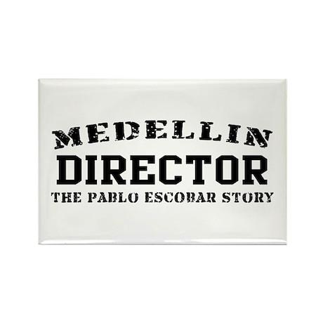 Director - Medellin Rectangle Magnet