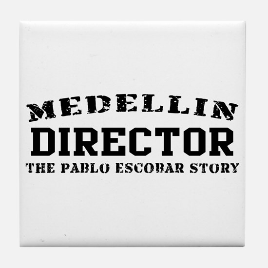 Director - Medellin Tile Coaster