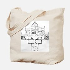 Andrea Palladio Villa Rotunda Tote Bag