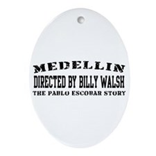 Directed By Billy Walsh Oval Ornament