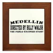 Directed By Billy Walsh Framed Tile
