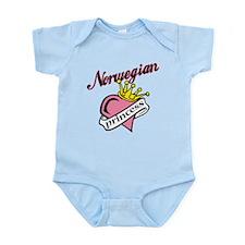Norwegian Princess Infant Bodysuit