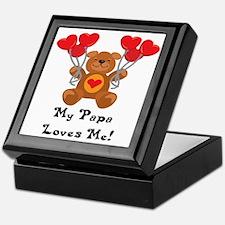 My Papa Loves Me! Keepsake Box