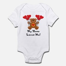 My Nana Loves Me! Infant Bodysuit