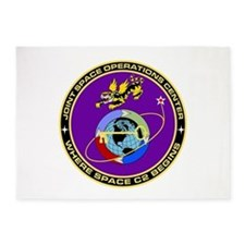 Jt Space Ops Ctr 5'x7'Area Rug