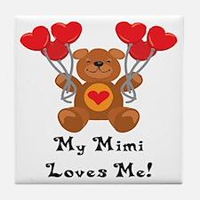 My Mimi Loves Me! Tile Coaster
