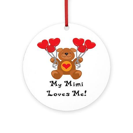 My Mimi Loves Me! Ornament (Round)