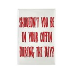 shouldn't you be... Rectangle Magnet (100 pack)