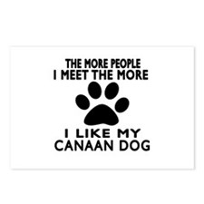 I Like More My Canaan Dog Postcards (Package of 8)