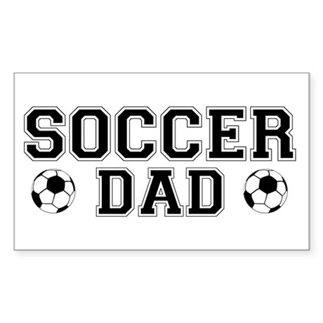Soccer Dad Rectangle Sticker