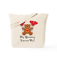 My Granny Loves Me! Tote Bag