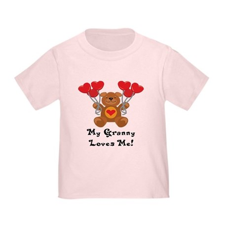 My Granny Loves Me! Toddler T-Shirt