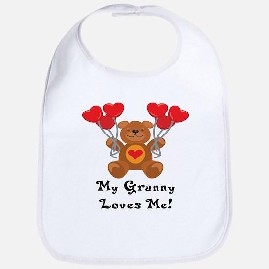 My Granny Loves Me! Bib
